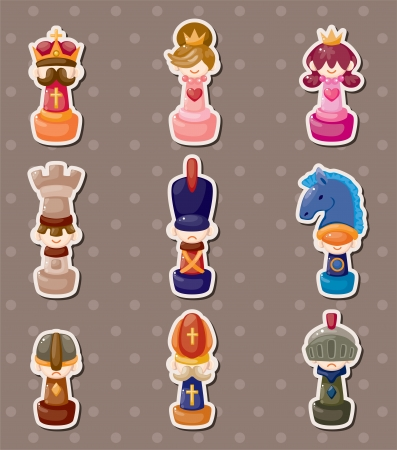 the rook: chess stickers