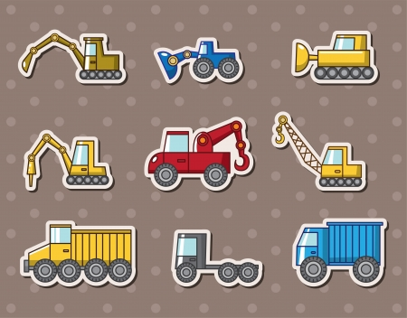 truck stickers Stock Vector - 14320349