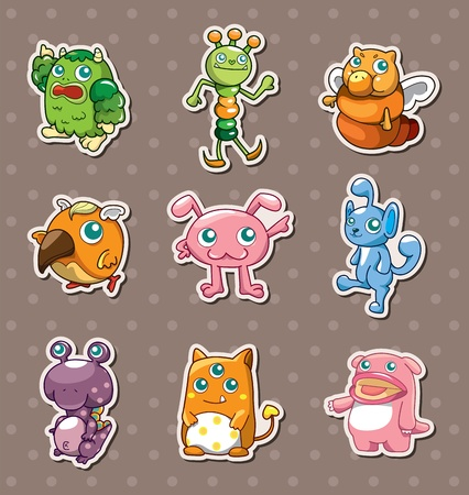 whimscal: monster stickers