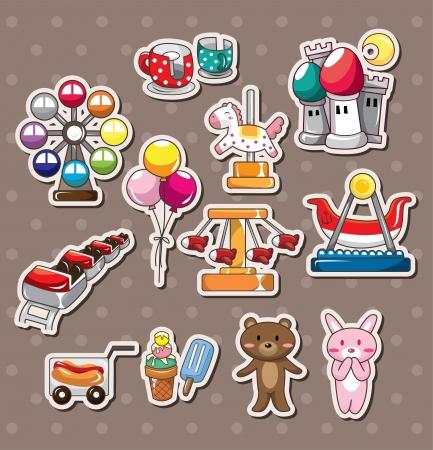 ferris wheel: playground stickers