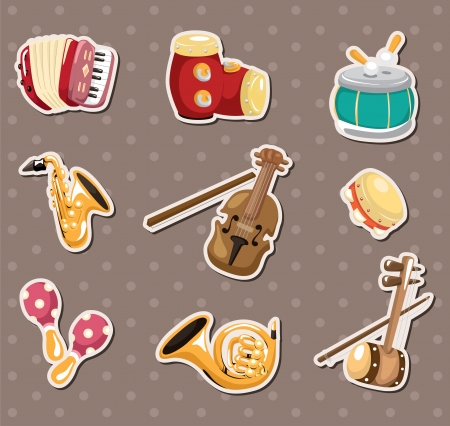 accordion: music stickers
