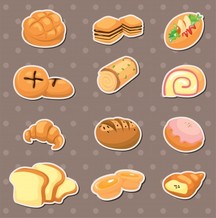 rye bread: bread stickers Illustration