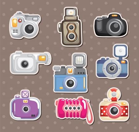 analog camera: camera stickers