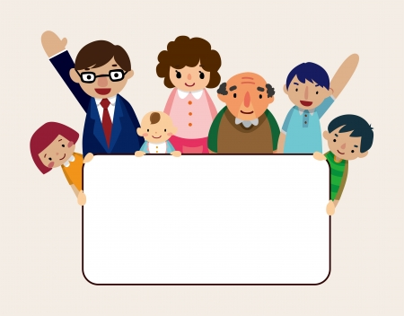 family card Vector