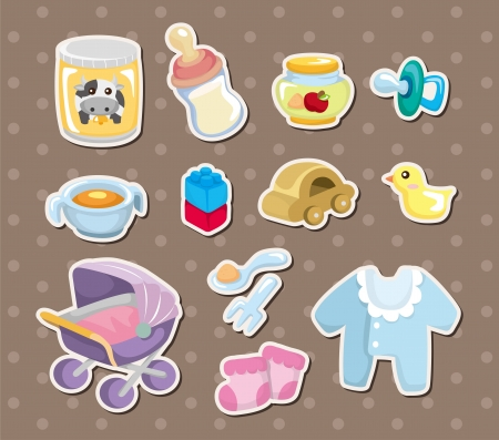 baby stuff stickers