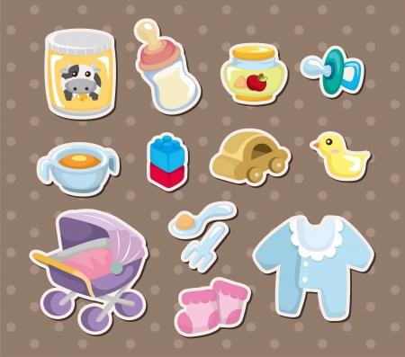 babero: pegatinas para Beb�s