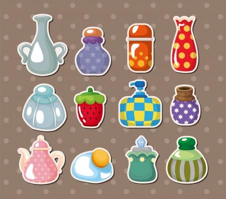 hand jam: bottle stickers
