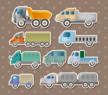 truck stickers Stock Vector - 14829415