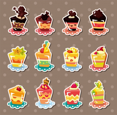fairycake: cake stickers