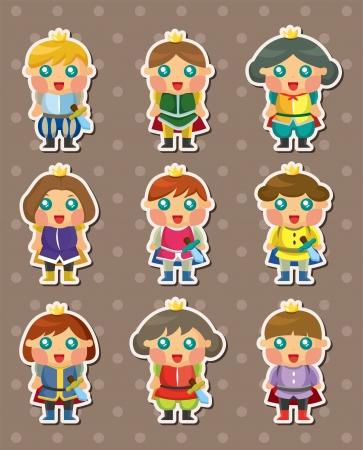 prince charming: prince stickers