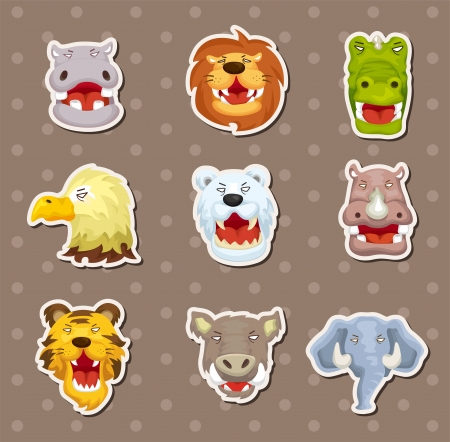 elephant angry: angry animal stickers