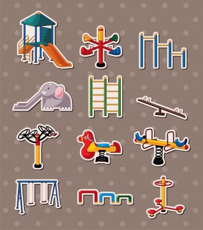 kids playground: park stickers
