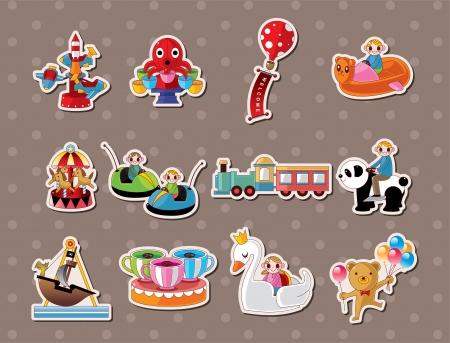 playground stickers Stock Vector - 15324964