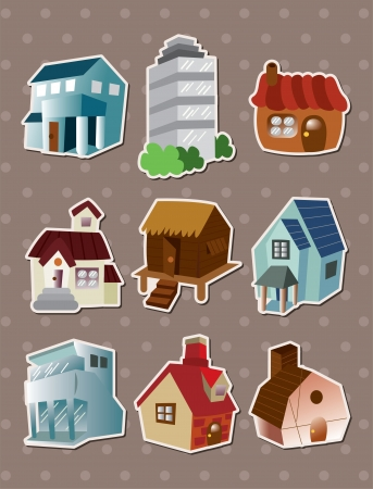 house stickers Stock Vector - 15387007