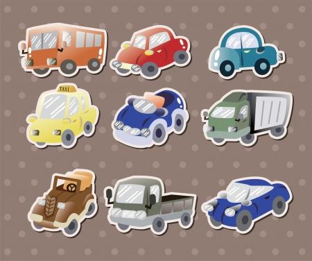 emergency vehicle: adesivi per auto Vettoriali