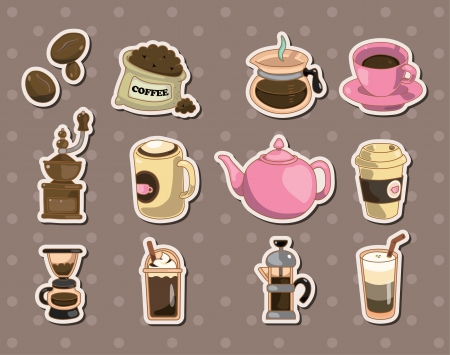 espreso: coffee stickers