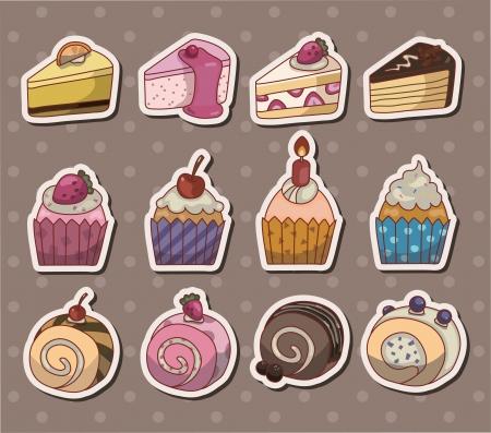 fairycake: cake stickers