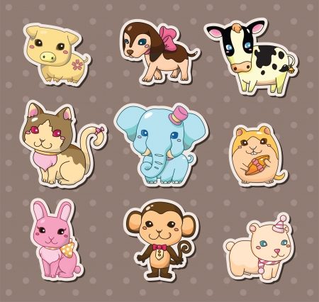 draw animal: animal stickers