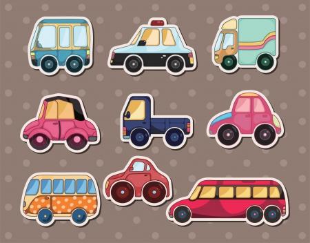 car stickers Vectores