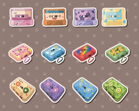 tape stickers  Vector