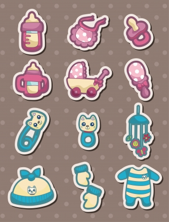 pacifier: baby stuff stickers