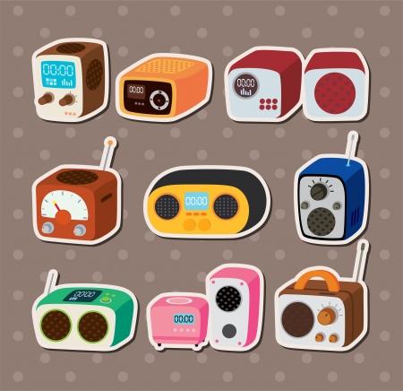 cilp: radio stickers