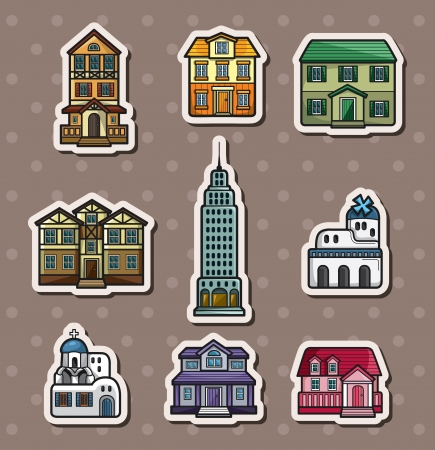house stickers Stock Vector - 15934264