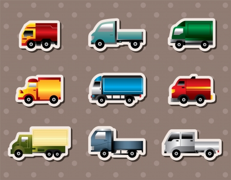 truck stickers Stock Vector - 15934250
