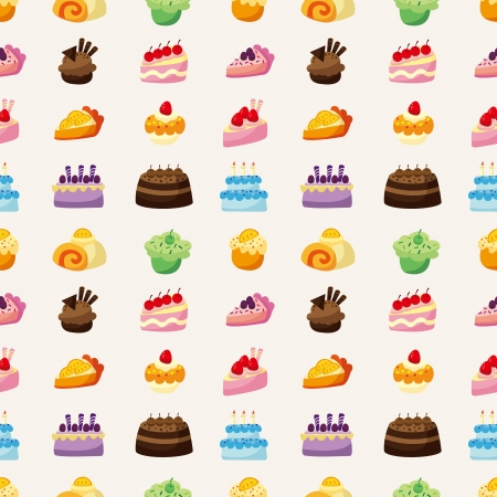 fairycake: cake pattern seamless