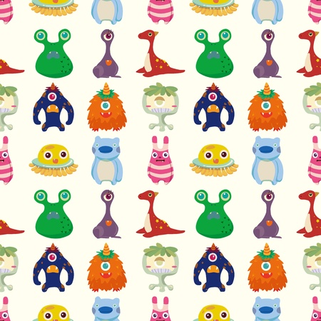cilp: seamless monster pattern