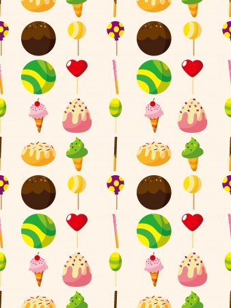 seamless candy pattern,cartoon vector illustration 일러스트