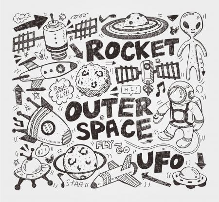doodle element ruimte