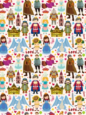 seamless Fairy tale pattern Stock Vector - 19375749
