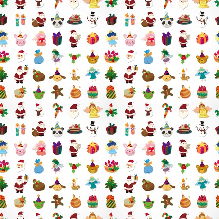 wrappers: seamless Christmas pattern Illustration
