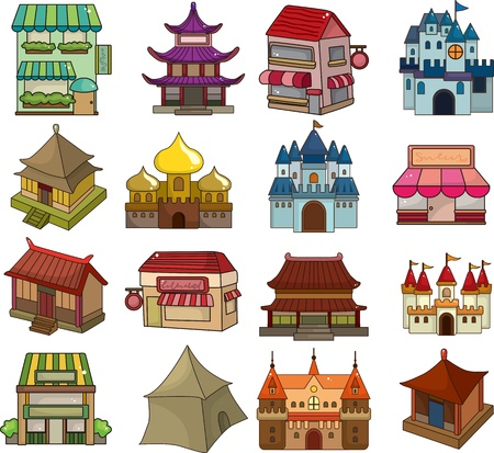 house sale: set of house icons
