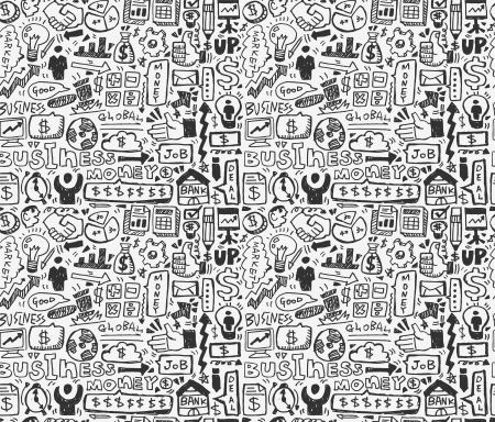 seamless business pattern Stock Vector - 20074047