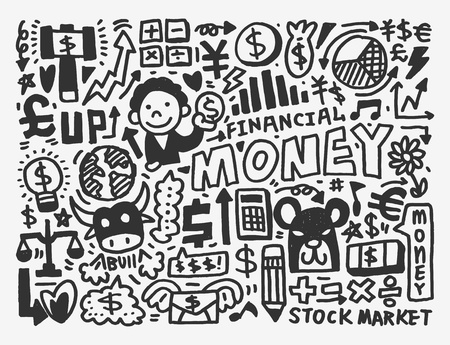bull pen: doodle Finance pattern