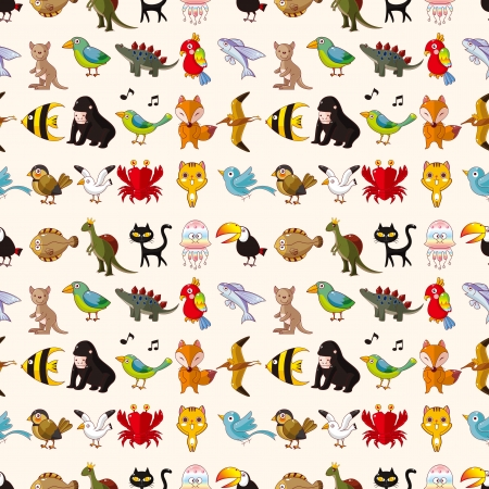 seamless animal pattern Stock Vector - 20513324