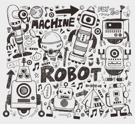robot: doodle robot element