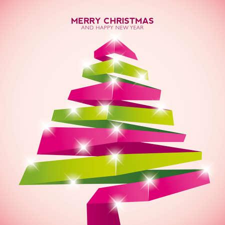 lent: Christmas tree