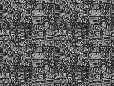 seamless business pattern Vector