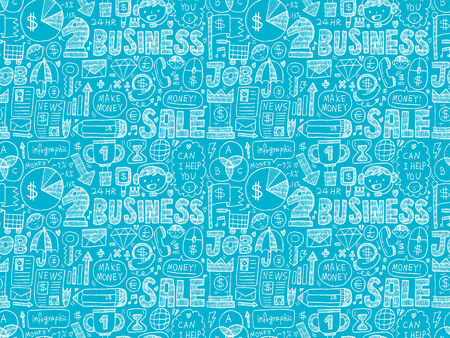 seamless business pattern Vector