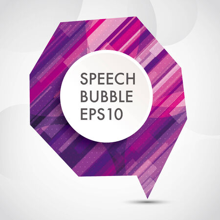 bubble background: abstract Speech bubble background,eps10 Vettoriali