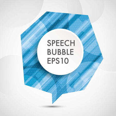bubble background: abstract Speech bubble background,eps10 Illustration