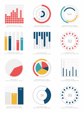 set of infographic Elements Vector
