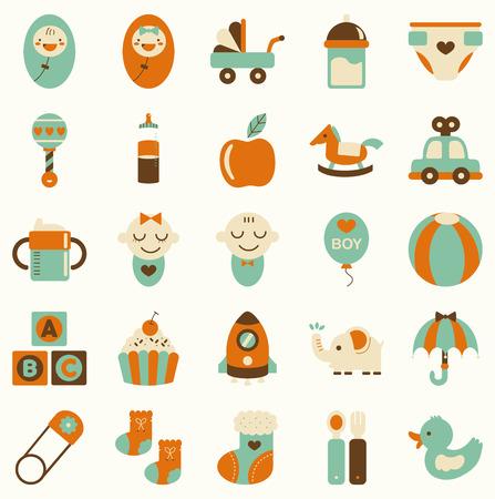 baby icon Stock Illustratie