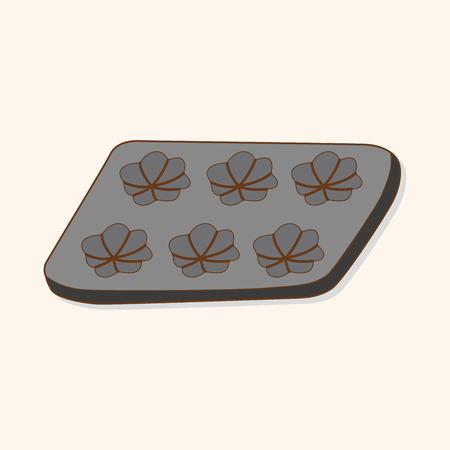 module: kitchenware baking module theme elements vector