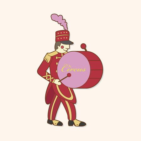 circus performer: circus performer theme elements vector,eps