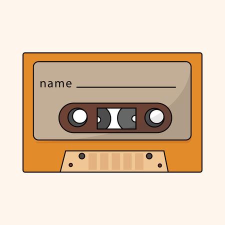 audiotape: Audiotape theme element