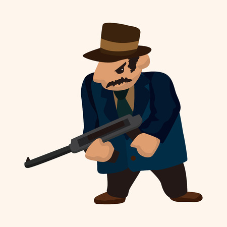 mobster: mafia theme elements